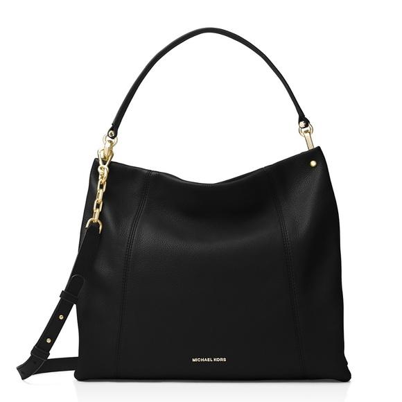 76866b8510cf Michael Kors Bags | Lex Large Convertible Leather Hobo | Poshmark